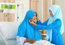 Tulisan Mukisi Hijab Pasien