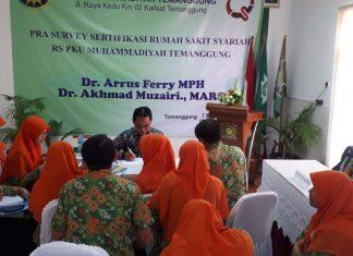 14 Maret Mukisi RS PKU Muhammadiyah Temanggung Siap Melaju Ke Tahap Survey RS Syariah